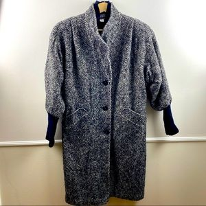 Vintage Portrait Petite wool coat